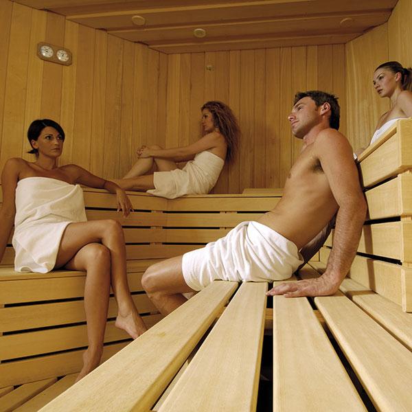 gemischte Sauna